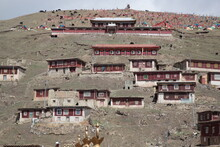 View Of Typical Tibetan Style ...