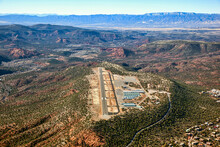 Aerial View Of Sedona Airport In 2013