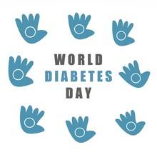 Diabetes Icon In Speech Bubble...