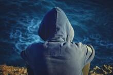Person In The Sea