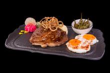 Amazing Gourmet Pork Steak On Blackstone