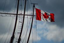 Ship Mast And Flag