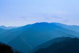 Fototapeta Do pokoju - 玉置神社から見た山々の風景