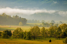 Morning Mist Over Cades Cove I...