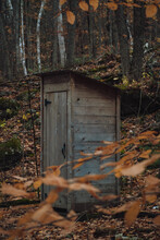 Outhouse In The Middle Of The ...