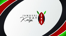 Jamhuri Day Is Also Known As Kenya Independence Day Illustration Vector