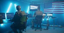 American Secret Base In Dark F...