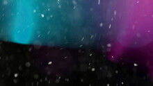 Light Greenish Blue And Purple Dust Overlay Particle Abstract Grunge Texture And Texture Effect Isolated On Black.