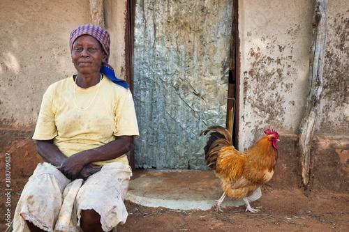 Obraz na plátně african farmer