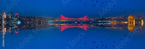 Canvastavla 15 July Martyrs Bridge, formerly the Bosphorus Bridge or the First Bridge, with