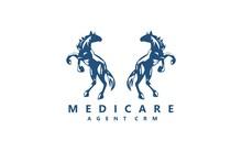 Horse Logo, Animal Symbol Desi...