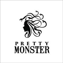 Snake Hair Woman Pretty Monster Logo Exclusive Design Inspiration