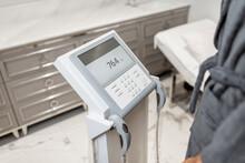 Woman Measuring Body Compositi...