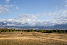 Steppe, Forest And Mountains. ...