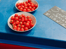 Cherry Tomatoes At The Market ...