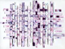 Violet Raindrops Background