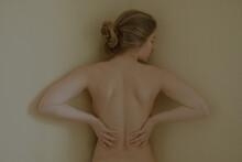 Photo Of Girl On Neutral Backg...