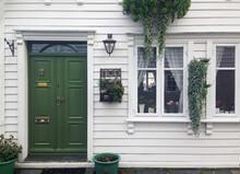 Typical Home Facade Entrance D...