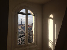 Window In Paris, Typical Apart...