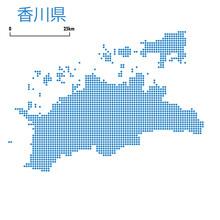 香川県の詳細地図四国...