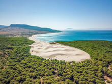 Aerial View Of The Dunes And T...
