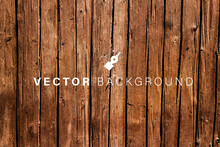 Vector Weathered Wooden Backgr...