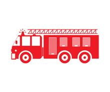 Firetruck SVG, Fire Service SVG, Fire Truck, Fire Truck Vector, Fire Truck Symbol, Fire Truck Vector Illustration