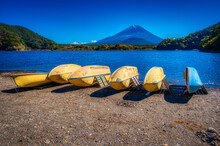 Lake Shoji, One Of The Fuji Fi...