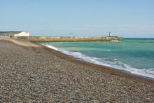 Newhaven Beach And Harbour, En...