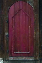 Deep Purple Arched Door Made O...