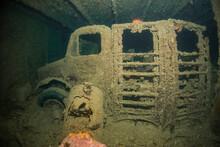 Trucks Still Inside SS Thistlegorm