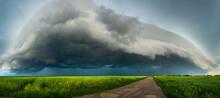 Storm Cloud Panorama. Great Cu...