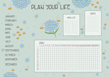 Plan Your Life Set With Wish L...