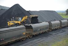 Coal Train Ready To Go