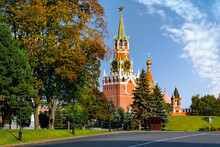 Spasskaya Tower Of The Moscow ...
