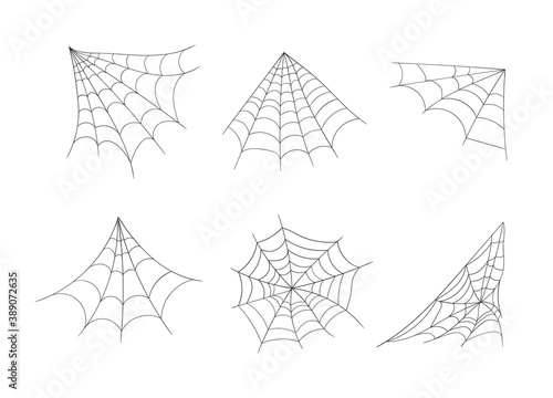 Canvas Print Cobweb, spider web.