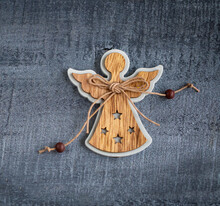Christmas Decorations Wooden A...
