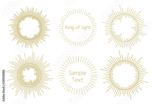 Fotografia 光の環 光背 円光 後光 光輪