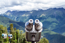 Binoculars On The Viewport In ...