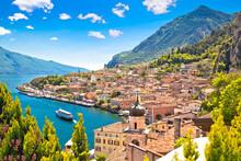 Town Of Limone Sul Garda On Ga...