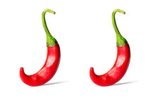 Two Red Hot Chili Pepper Isola...