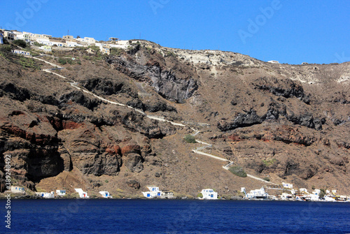 Canvas Print voyage en Grèce