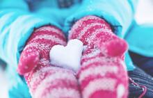 Snow Heart In Your Hands
