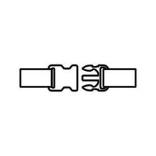 Buckle Icon. Backpack Buckle Vector. Vector Illustration