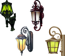 Collection Of Street Vintage Lights