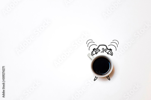 Wake up and smell the coffee. Coffee time фототапет