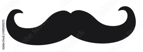 Obraz Vector image of a mustache - fototapety do salonu