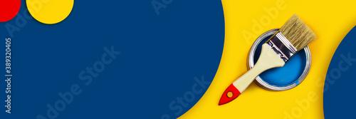 Photo Abstract repair web-banner