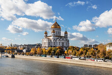 Autumn Moscow With The Cathedr...
