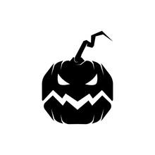 Pumpkin Vector Halloween Icon ...
